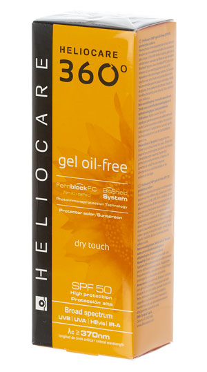 Heliocare 360 Oil Free Gel SPF 50