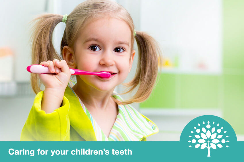 caring for childrens teeth