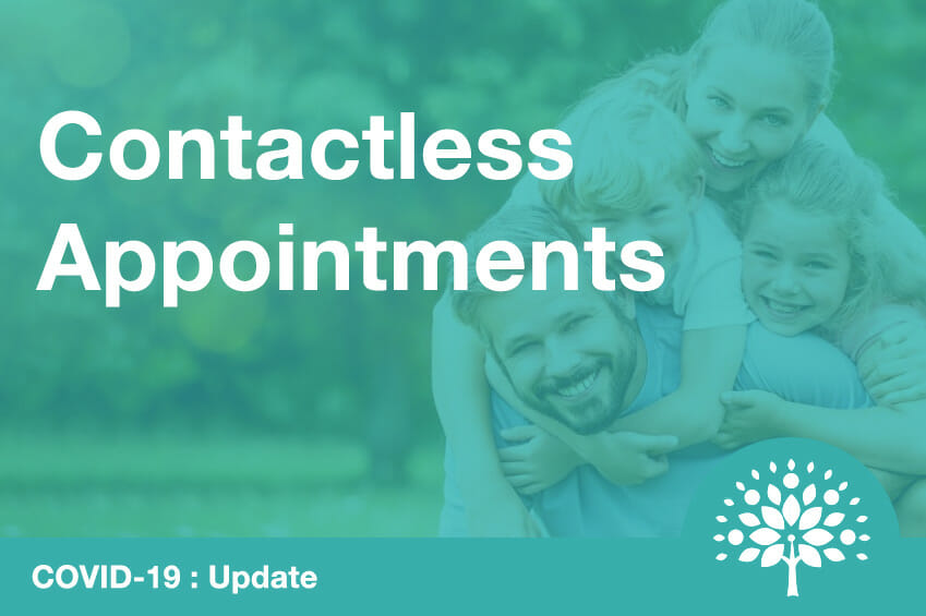 contactless appointments