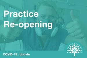 dental practice reopening